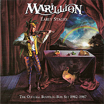 Marillion Early Stages: The Official Bootleg Box Set 1982-1987 Limited Edition